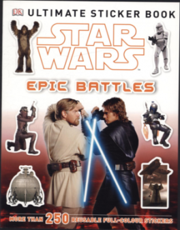 STAR WARS ATTACK OF THE CLONES ULTIMATE STICKER BOOK JEDI FORCES