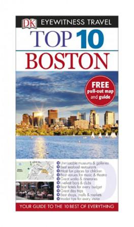 EYEWITNESS TOP 10 TRAVEL GUIDES: BOSTON (7TH ED.)
