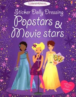 STICKER DOLLY DRESSING: POPSTARS & MOVIES STARS