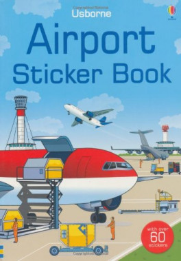 SPOTTER'S STICKER BOOK: AIRPORTS