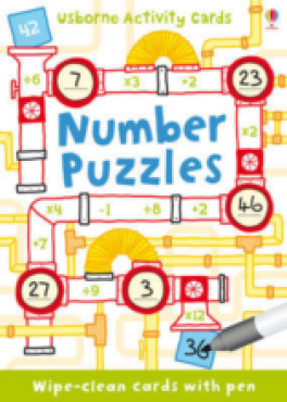 PUZZLE CARDS: NUMBER PUZZLES