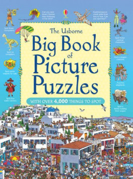 BIG BOOK OF  PICTURE PUZZLES (NEW ED)