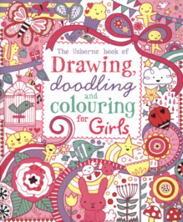 DRAWING, DOODLING AND COLOURING OFR GIRLS