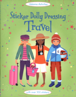 STICKER DOLLY DRESSING: TRAVEL