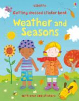 GETTING DRESSED STICKER BOOK WEATHER & SEASON