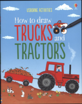 HOW TO DRAW TRUCKS AND TRACTORS