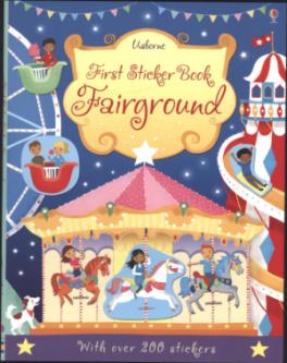 FIRST STICKER BOOK: FAIRGROUND