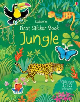 FIRST STICKER BOOK: JUNGLE