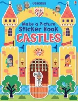 MAKE A  PICTURE STICKER BOOK: CASTLE