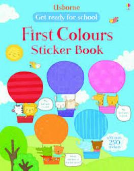 FIRST COLOURS STICKER BOOK