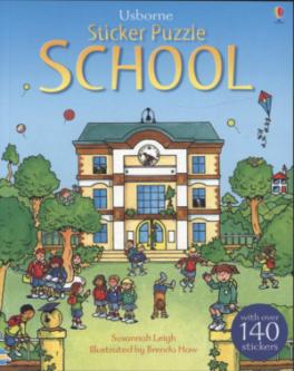 STICKER PUZZLE SCHOOL