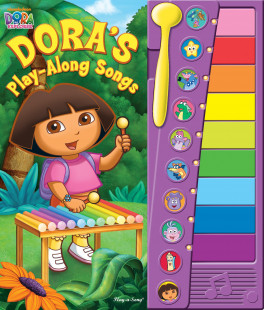 XYLOPHONE BOOK: DORA'S PLAY-ALONG-SONGS