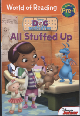 ALL STUFFED UP: PRE-LEVEL 1 (WORLD OF READING)