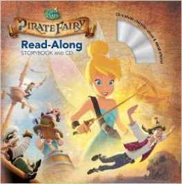 DISNEY FAIRIES READ-ALONG STORYBOOK + CD