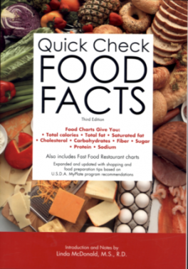 QUICK CHECK FOOD FACTS (3RD ED.)