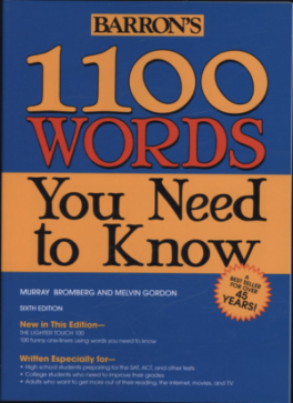 1100 WORDS YOU NEED TO KNOW (6TH ED.)