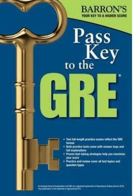 BARRON'S PASS KEY TO THE GRE (8TH ED.)