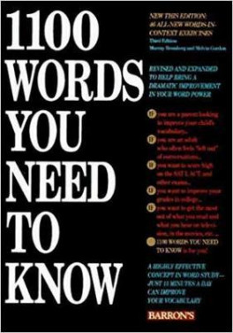 1100 WORDS YOU NEED TO KNOW (7TH ED )