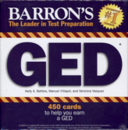 BARRON'S GED FLASH CARDS (BOXED SET, 450 CARDS)