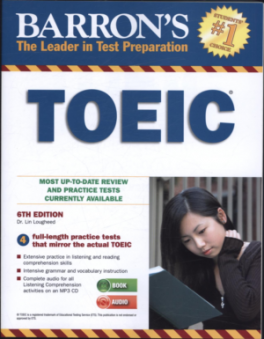 BARRON'S TOEIC ( 6TH ED.) (CRB) (WITH 4 AUDIO CDS)
