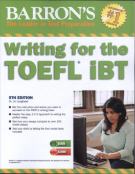 Barrons writing for the toefl ibt with mp3cd 5th edlougheed dr barrons writing for the toefl ibt with mp3cd 5th ed fandeluxe Choice Image