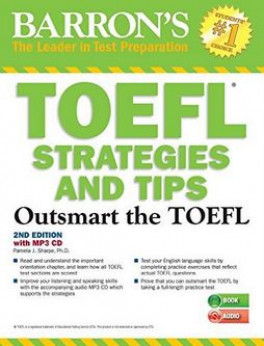 Barrons toefl strategies and tips with mp3 cd outsmart the toefl barrons toefl strategies and tips with mp3 cd outsmart the toefl ibt 2nd ed fandeluxe Choice Image