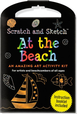 AT THE BEACH SCRATCH AND SKETCH KIT