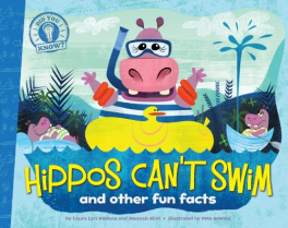 DID YOU KNOW? HIPPOS CAN'T SWIM