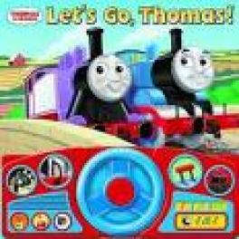 STEERING WHEEL BOOK: LET'S GO THOMAS!