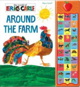 APPLE PLAY-A-SOUND BOOK: ERIC CARLE FIRSTS WORDS ON THE FARM