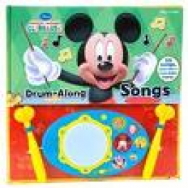LED DRUM BOOK: MICKEY MOUSE CLUBHOUSE DRUM-ALONG SONGS