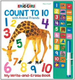 WRITE & ERASE SOUND BOOK: ERIC CARLE COUNT TO TEN