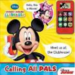 CELL PHONE BOOK MINI DELUXE: MICKEY MOUSE CLUBHOUSE