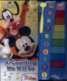 XYLOPHONE BOOK: MICKEY MOUSE CLUBHOUSE