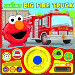 STEERING WHEEL BOOK: SESAME STREET FIRE TRUCK