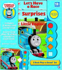 3 BOOK PLAY-A-SOUND SET STACKED: THOMAS