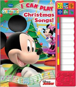 LITTLE PIANO BOOK: MICKEY AND MINNIE CHRISTMAS