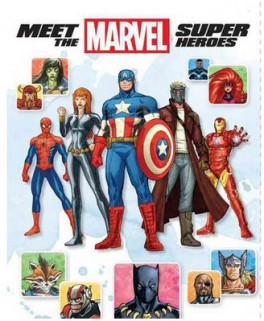 MEET THE MARVEL SUPER HEROES (2ND EDITION)