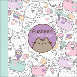 pusheen coloring book belton claire asiabooks com