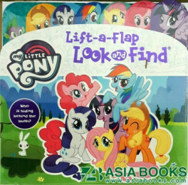 lift a flap look find my little pony asiabooks com