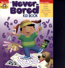 NEVER-BORED KID BOOK (AGES 5-6), THE