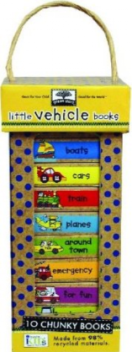 BOOK TOWERS: LITTLE VEHICLE BOOKS
