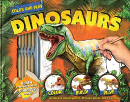 COLOR AND PLAY: DINOSAURS