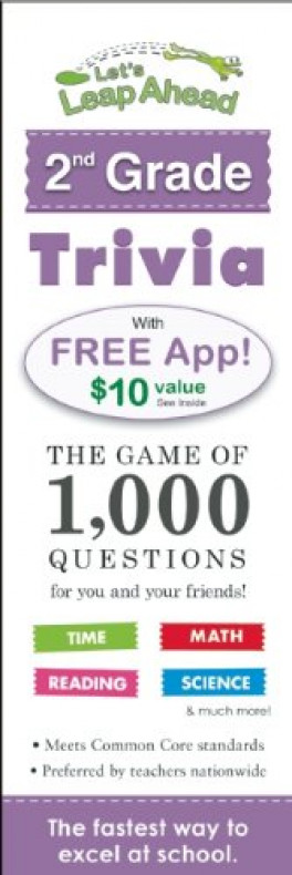 2 GRADE TRIVIA: THE GAME OF 1,000 QUESTIONS