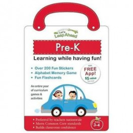 LET'S LEAP AHEAD: PRE-K LEARNING WHILE HAVING FUN!