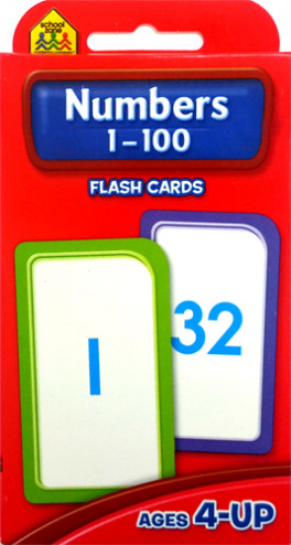 FLASH CARDS: NUMBER 1-100