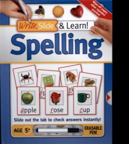 WRITE, SLIDE, LEARN! SPELLING