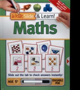 WRITE, SLIDE, LEARN! MATHS
