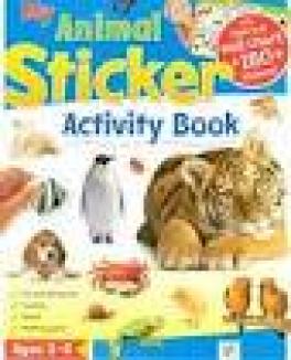 MY STICKER ACTIVITY BK: ANIMALS
