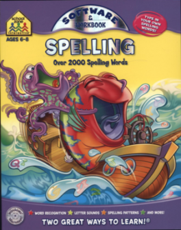 PENCIL-PAL SOFTWARE: SPELLING 1-2